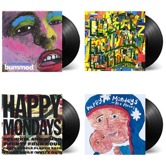 Happy Mondays: Factory Albums: Deluxe Vinyl Reissues