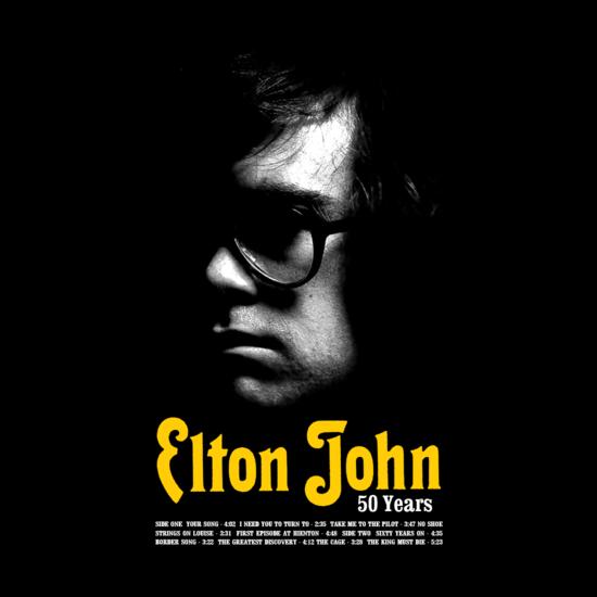 Elton John: Elton John: 50th Anniversary Lithograph