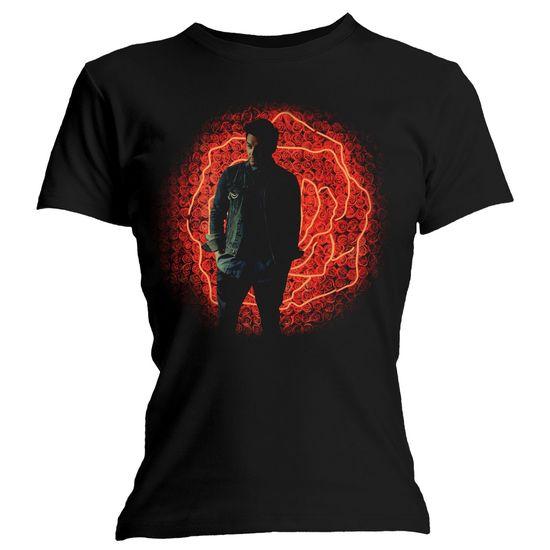 Shane Filan: Shane Filan Photo Black Fitted T-Shirt - Medium