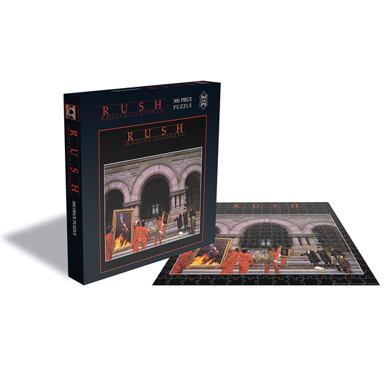 Rush: Moving Pictures (500 Piece Jigsaw Puzzle)