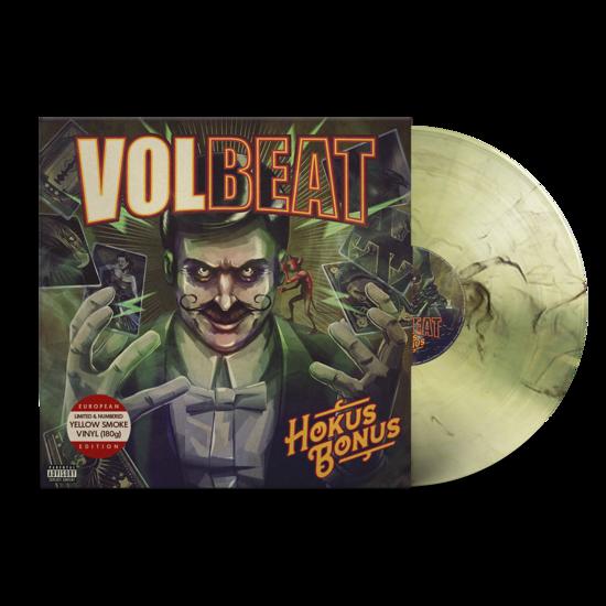 Volbeat: Hokus Bonus: Limited Edition Transparent Yellow + Black Smoke Vinyl LP [Numbered]