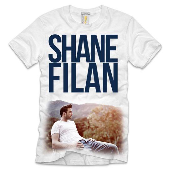 Shane Filan: Shane Filan Album White T-Shirt - Medium