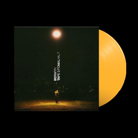 Berwyn: TAPE 2/FOMALHAUT: Limited Edition Yellow Vinyl LP