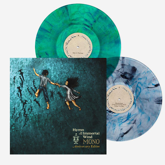 Mono: Hymn To The Immortal Wind (10 Year Anniversary Edition): Limited Edition Metallic Ocean Blue and Green Coloured Vinyl LP