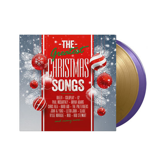 Various Artists: Great Xmas Songs: Limited Edition Transparent Gold and Purple Vinyl 2LP