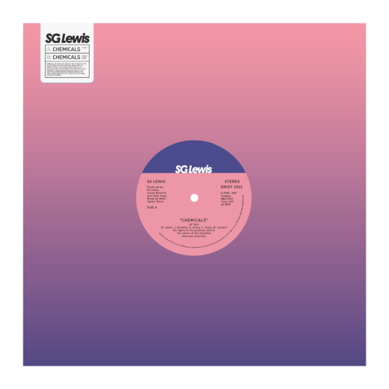 """S.G. Lewis: Limited Edition Chemicals 12"""" Vinyl"""