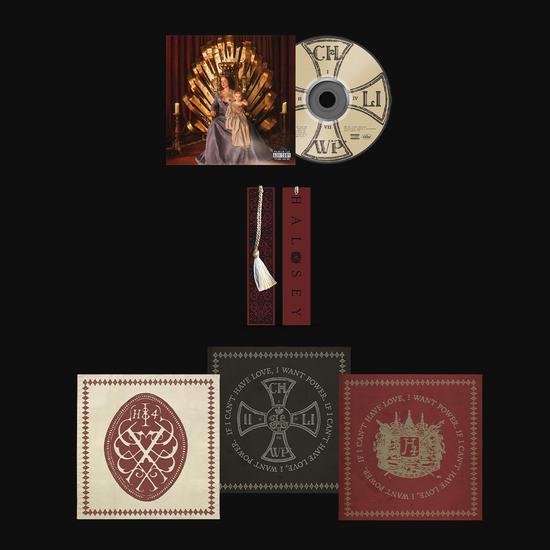 Halsey: CD, Bookmark & Bandana Set