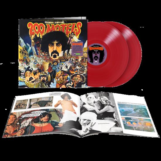 "Frank Zappa: ""200 Motels"" Original Soundtrack: Exclusive Red Vinyl 2LP"