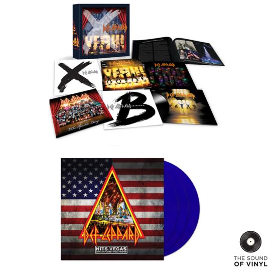 Def Leppard: The Sound Of Def Leppard Exclusive Vinyl Bundle
