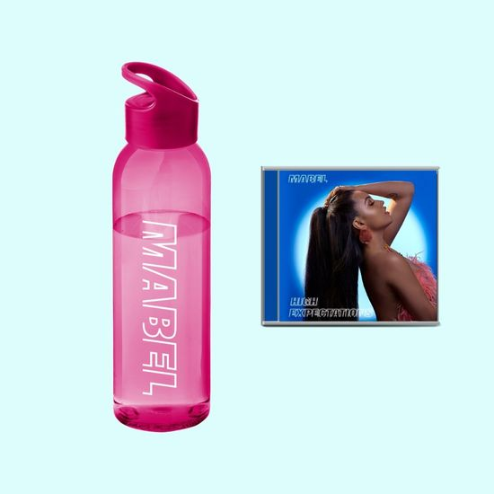 Mabel: Pink Mabel Waterbottle & CD