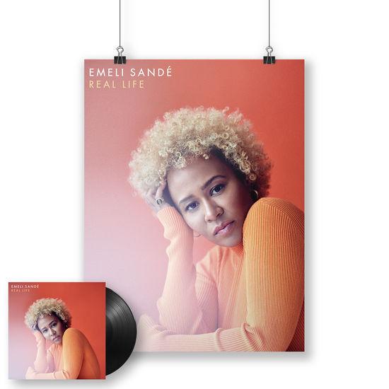 Emeli Sande: Real Life Signed LP + Print