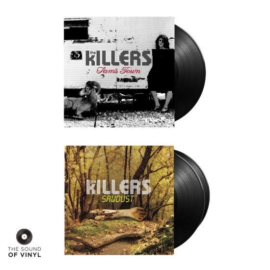 The Killers: Sam's Town + Sawdust Vinyl Bundle