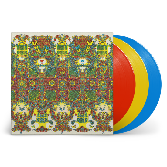 King Gizzard & The Lizard Wizard: Butterfly 3000: Limited Edition Lucky Dip Red, Blue or Yellow Vinyl