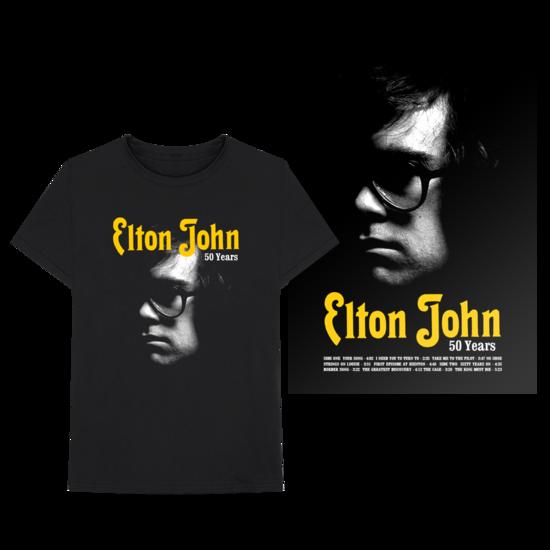 Elton John: Elton John: 50th Anniversary Merch Bundle