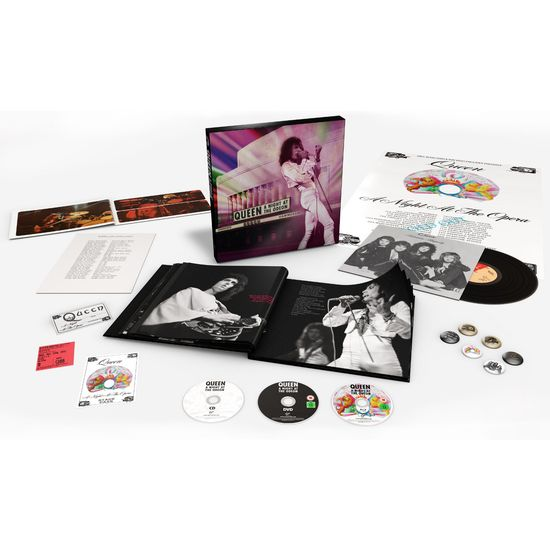 Queen: A Night At The Odeon - Hammersmith 1975 (Super Deluxe Box Set)