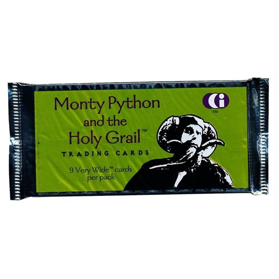 Monty Python: Monty Python and the Holy Grail - Very Wide Trading Cards