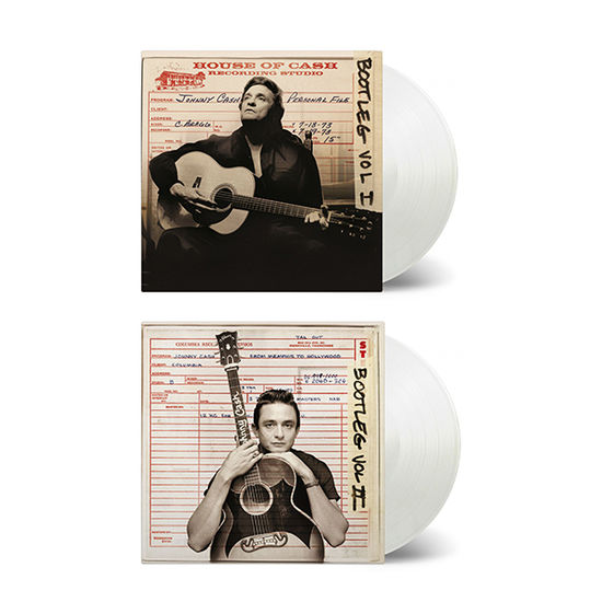 Johnny Cash: Bootleg Volume 1 & 2: Limited Edition Transparent Vinyl Bundle