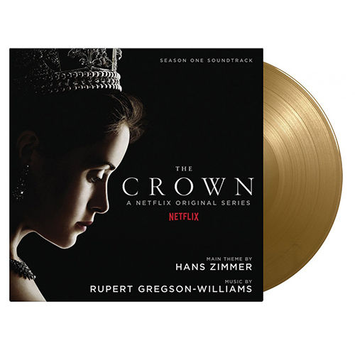 Original Soundtrack: The Crown Season One: SOV UK Exclusive Limited Gold Vinyl