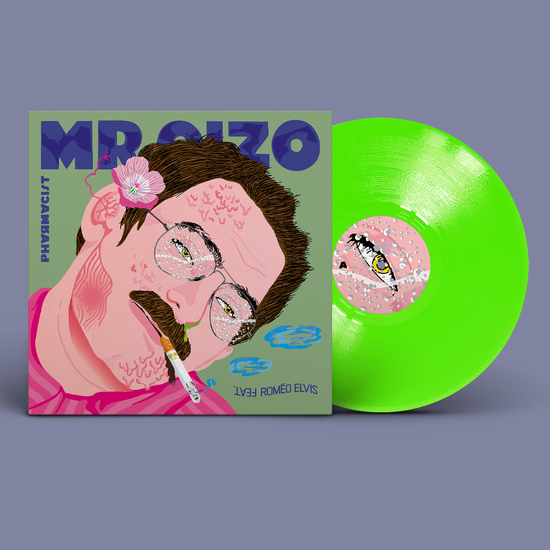 Mr Oizo: Pharmacist: Limited Edition Neon Green Vinyl