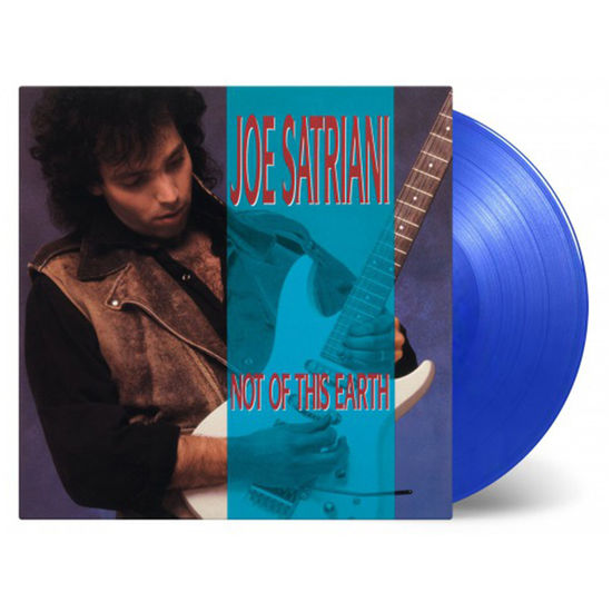 Joe Satriani: Not Of This Earth: Limited Edition Translucent Blue Vinyl