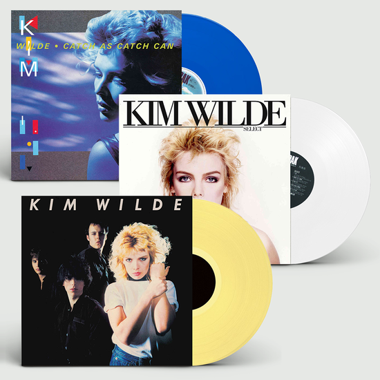 Kim Wilde: The First Three Albums: Limited Edition Coloured Vinyl Bundle