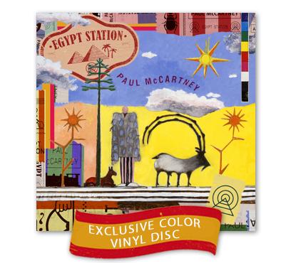 Paul McCartney: Egypt Station Standard Coloured Vinyl
