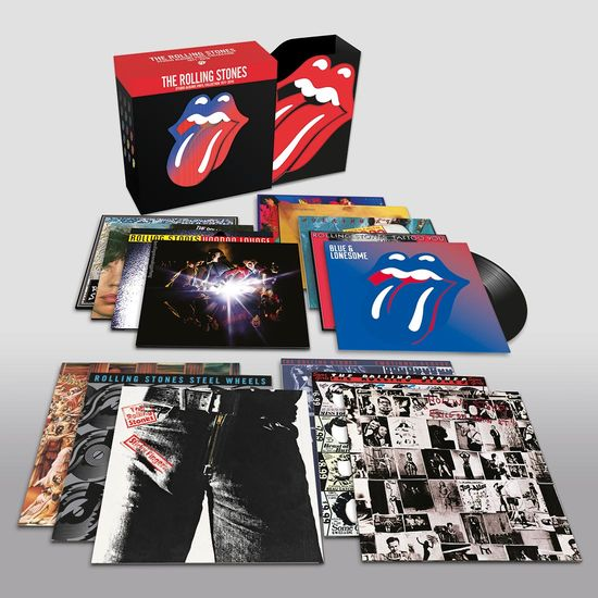 The Rolling Stones: The Rolling Stones: Studio Albums Vinyl Collection 1971 - 2016