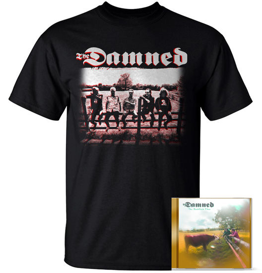 The Damned: CD & T-Shirt