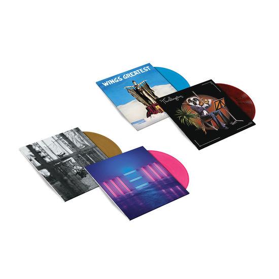 Paul McCartney: 4LP Exclusive Colour Vinyl Bundle