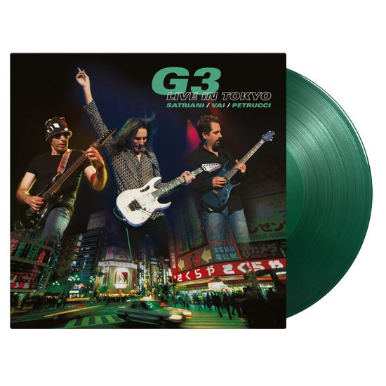 G3: Live In Tokyo: Limited Edition Translucent Green Vinyl