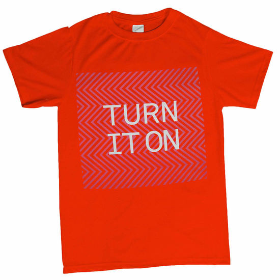 Pet Shop Boys: Turn It On Fluro T-Shirt - Small