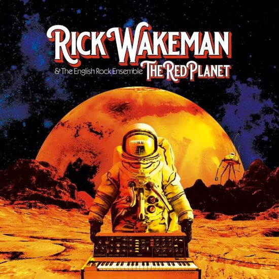 Rick Wakeman: The Red Planet: Gatefold Double Vinyl