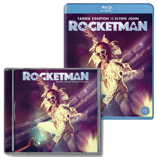 Elton John: Rocketman Blu-ray, & CD