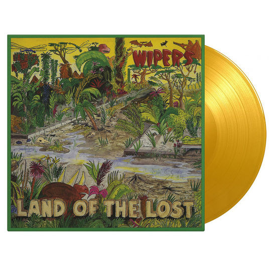 Wipers: Land Of The Lost: Limited Edition Yellow Vinyl