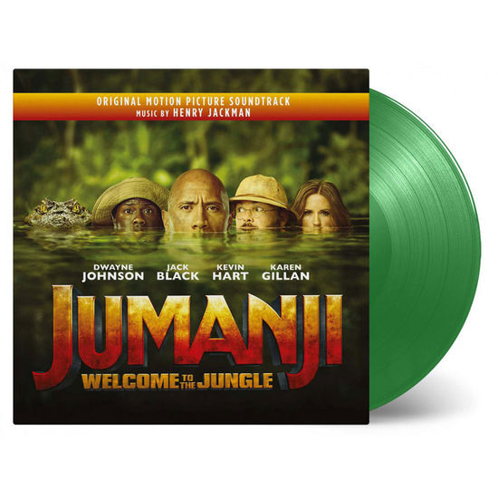 Henry Jackman: Jumanji: Welcome To The Jungle Original Soundtrack (Jungle Green Vinyl)