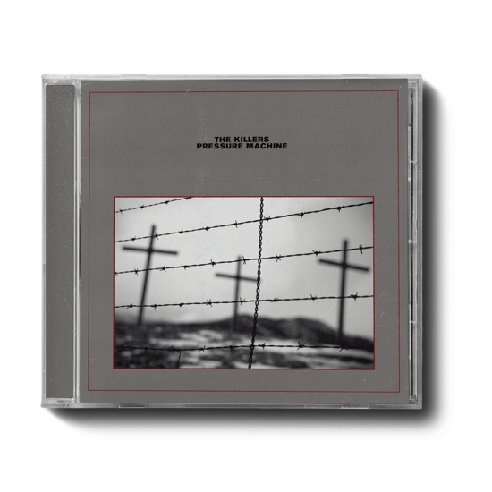 The Killers: PRESSURE MACHINE GREY COVER CD