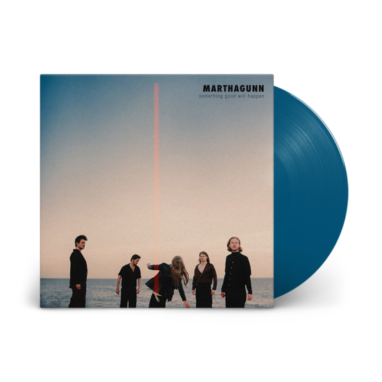 MarthaGunn: Something Good Will Happen: Solid Blue Vinyl LP