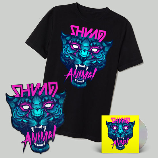 Shining: Animal CD, T-Shirt & Patch