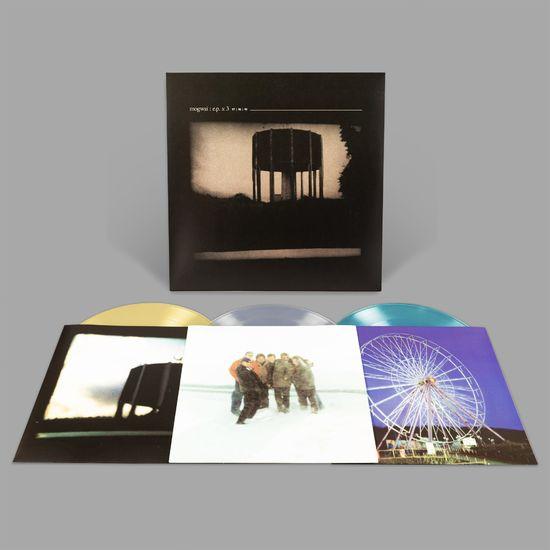 Mogwai: EP x 3: Limited Edition Blue, Clear & Yellow Vinyl