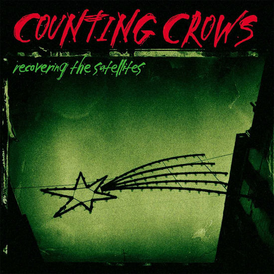 Counting Crows: Recovering The Satellites: Exclusive Green Vinyl