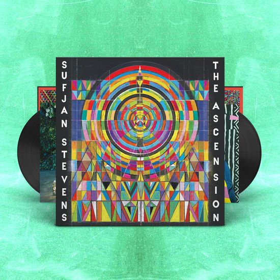 Sufjan Stevens: The Ascension: Classic Black Double Vinyl
