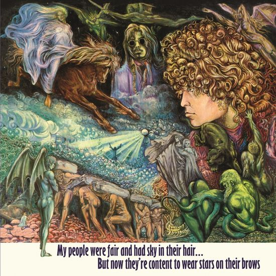 Tyrannosaurus Rex: My People Were Fair And Had Sky In Their Hair
