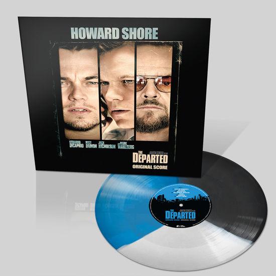 Original Soundtrack: The Departed: Tri-Colour Blue, Black & White Vinyl