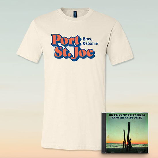 Brothers Osborne: Port Saint Joe CD & T-Shirt Bundle