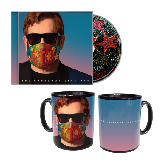 Elton John: The Lockdown Sessions CD & Mug Bundle