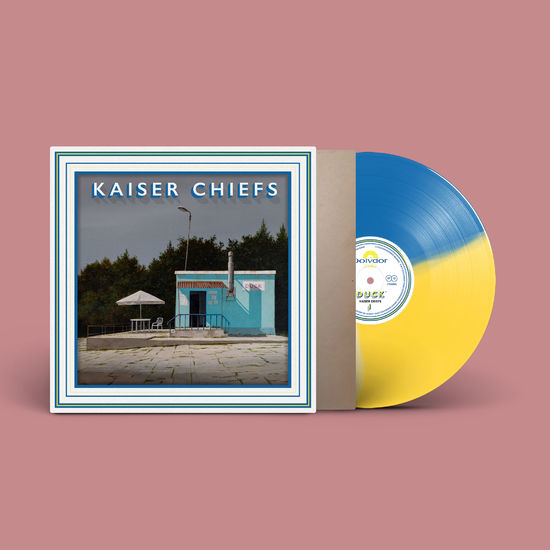 Kaiser Chiefs: Duck Tri-Coloured Exclusive Leeds Edition Signed Vinyl