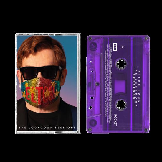 Elton John: The Lockdown Sessions Purple Cassette