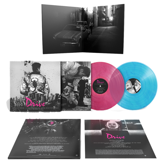 Cliff Martinez: Drive: Special 10th Anniversary Blue & Pink Marble Vinyl Edition