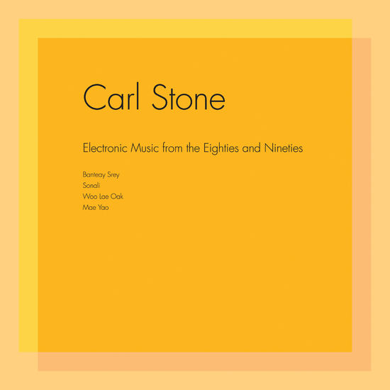 Carl Stone: Electronic Music from the Eighties and Nineties