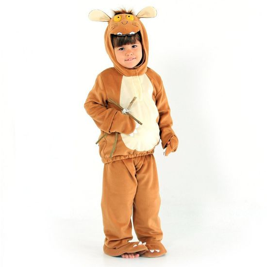 The Gruffalo: Gruffalo's Child Dress Up Outfit - 3-5 Years